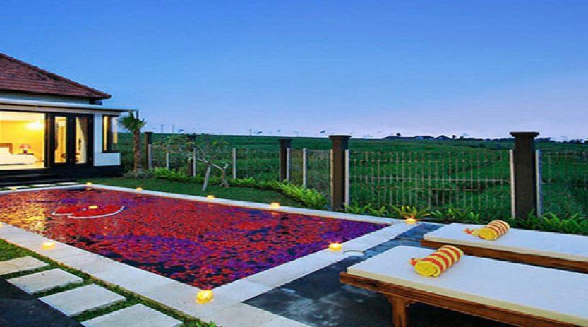 Villa Romantis,paket bulan madu dengan villa romantis